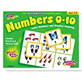 TREND Products - TREND - Numbers 0-10 Match Me Puzzle Game, Ages 3-6 - Sold As 1 Each - Award-winning game. - Game plays three ways. - Uses matching, memory and word/picture skills. - Includes eight two-sided game boards and 48 cards. - 1-8 players.
