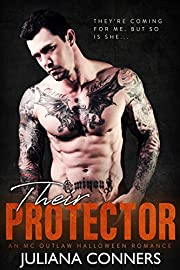 Their Protector: An MC Outlaw Halloween Romance