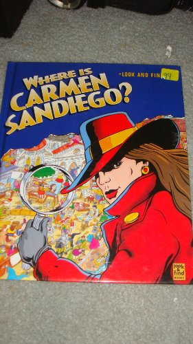 Where is Carmen Sandiego? (Look and find)
