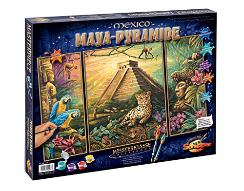 Schipper Maya Pyramid Paint-By-Number Kit by Heaven and Earth Designs