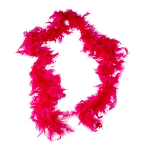 FEATHER BOA/HOT PINK (CP)
