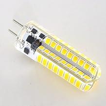 Smartlive 5W 12V GY6.35 G6.35 Base LED light bulb lamp 40 Watt Equivalent Halogen Bulb replacement Warm White 3000k for Chandelier,Indoor Decorative ,Ceiling Fan,kitchen lighting