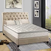 Continental Sleep Mattress,  10-Inch Fully Assembled Pillow Top  Orthopedic Mattress, Queen