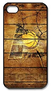 LZHCASE Personalized Protective Case For Iphone 6 4.7Inch Cover NBA Sports Indiana Pacers Logo in Wood Background