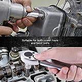TACKLIFE 14-Piece Torx Bit Socket Set, T8 - T60, S2 Alloy Steel Bit Cr-V Steel Socket, High Cost Performance,TBS1A