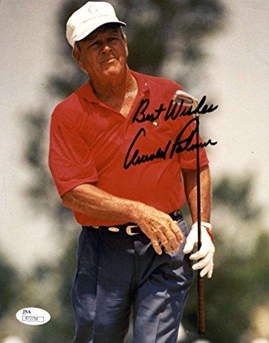 Arnold Palmer Signed Photo - 8