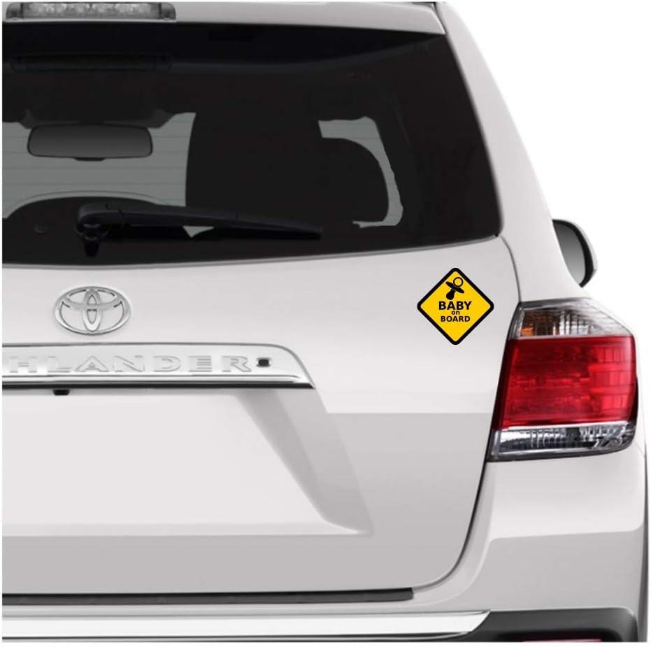 Baby on Board Sticker Vinyl Decal Car Laptop Window Wall Bumper Decor Gift Hot
