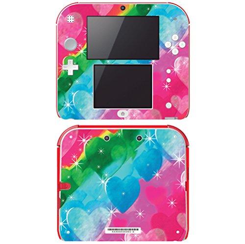 (Decal Skin Vinyl Game Cover for Nintendo 2DS - Tye Dye)