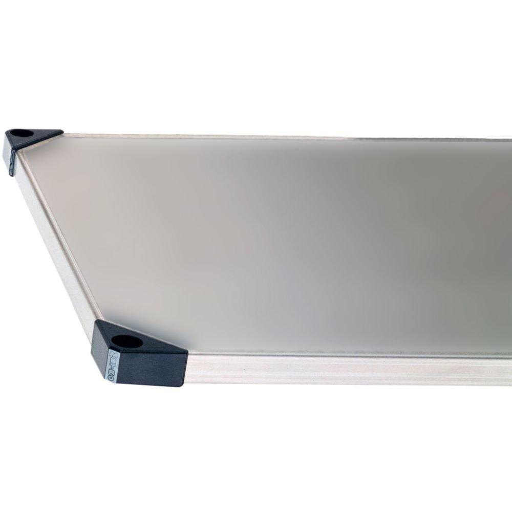 Super Erecta Flat Standard S/S Solid Shelf, 24'' x 30''