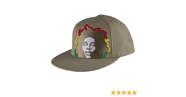 28286476350 Amazon.com  Bob Marley - Rasta Hair Tan Fitted Baseball Cap  Clothing