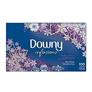 Ultra Downy Infusions Lavender Serenity Fabric Softener Sheets 105 count