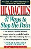 Headaches, Charles B. Inlander and Porter Shimer, 0802774733