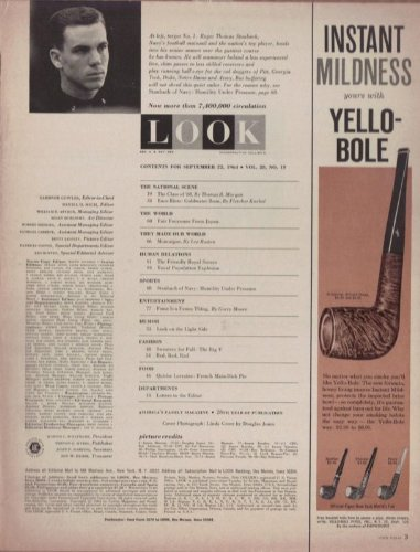 - Yello Bole Pipes 1964 Antique Tobacco Vintage Antique Advertisement