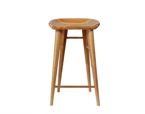Sgabello in legno americano in legno massello sedia bar sgabello