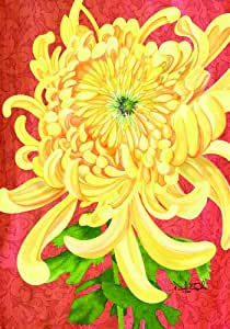Russ Berrie 645507 Chrysanthemum Estate Flag