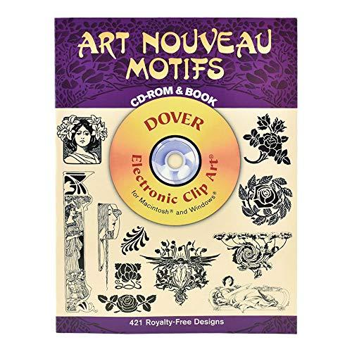 Dover Clip Art Cd/Book Art Nouveau Motifs