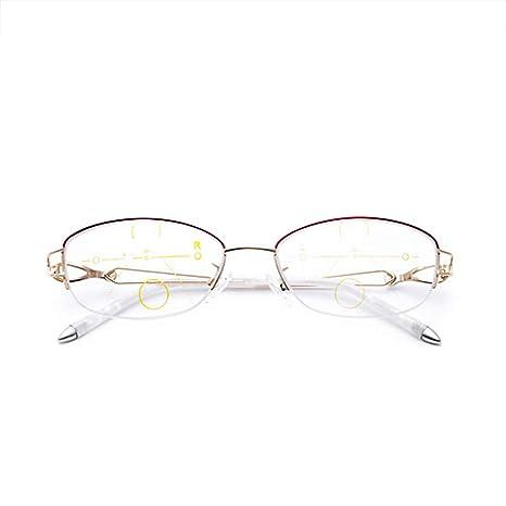 nueva estilos f0c41 a48e5 OYNN Gafas de Lectura para Mujer, Finas y Elegantes, Gafas ...