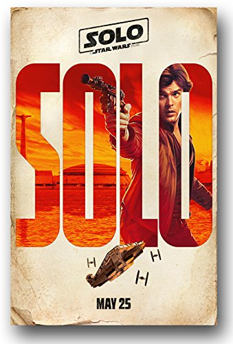 Solo Poster - Movie Promo - 11 x 17 inches - A Stars Wars St