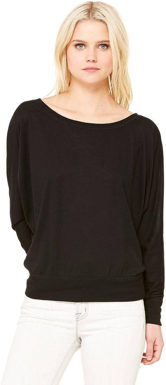 VISHTEA All I Need is Coffee /& Mascara Long-Sleeve Coffee Lover Flowy Shirt