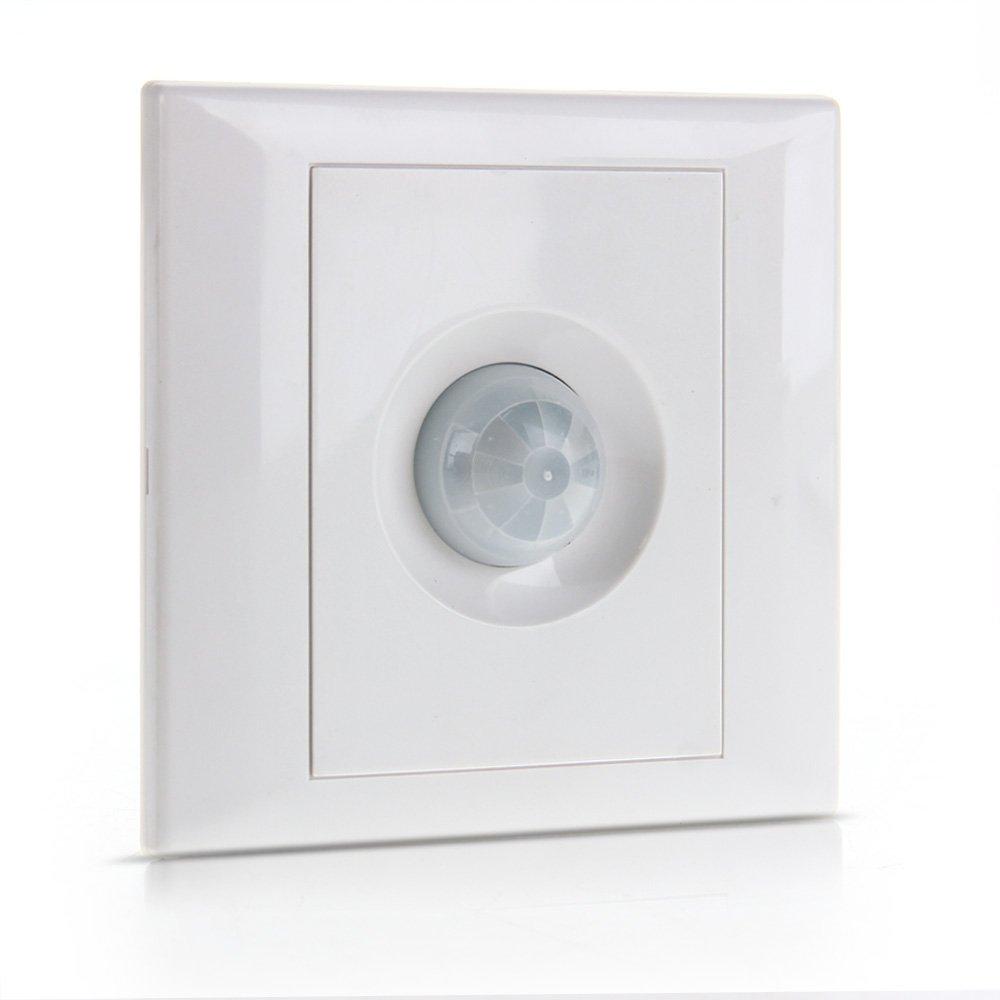 COLEMETER® Interruptor Sensor Detector de Movimiento Infrarrojos para Iluminación: Amazon.es: Electrónica