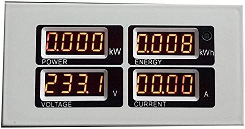 Digital Energy Meter AC 80 ~ 260 V 10A Spannung Strom Leistungsfrequenz