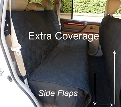Deluxe Quilted and Padded seat cover with Non-Slip Fabric