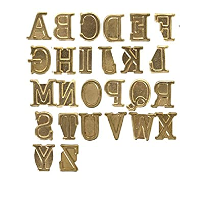 Walnut Hollow Hotstamps Uppercase Alphabet Branding and Personalization Set for Wood and Other Surfaces: Arts, Crafts & Sewing