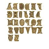 Walnut Hollow Hotstamps Alphabet Set