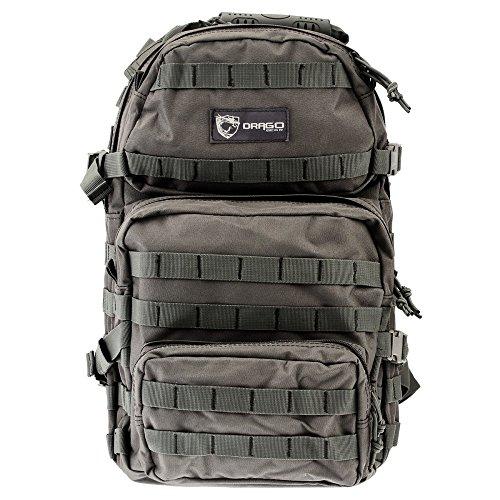 Backpack Gear Inc (Drago Gear Assault Backpack, Grey)