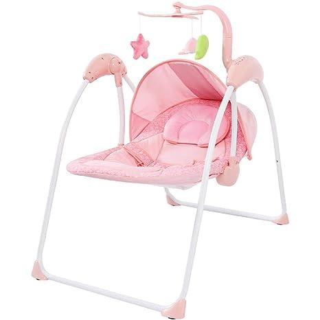 AIBAB Silla Mecedora Eléctrica para Bebé Oscilación Remoto ...