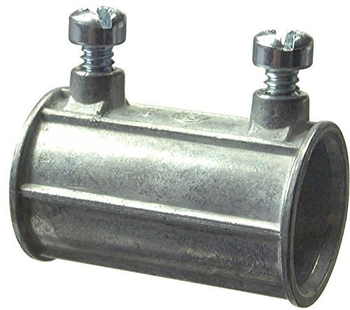 (Halex 21220 Zinc Set Screw Coupling, 1/2