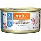 Instinct Limited Ingredient Diet Grain Free Real Turkey Recipe Natural Wet Canned Cat Food By Nature'S Variety, 3 Oz. Cans (Case Of 24)
