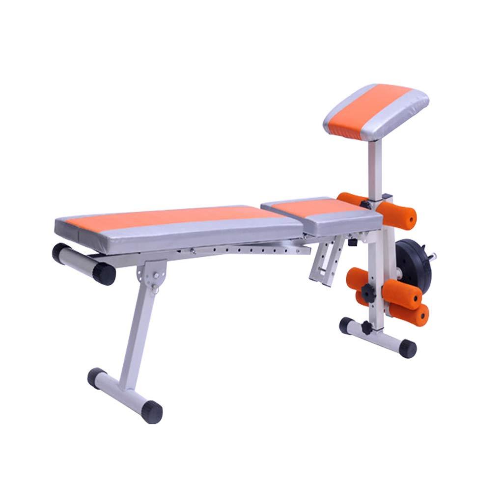 屋内運動チェア、家庭用多機能能力陶酔戦士腹部皮膚ボード勧告持ち上げる健康な体の機器の暖かさの糞尿運動装置  Orange B07KQS8QNF
