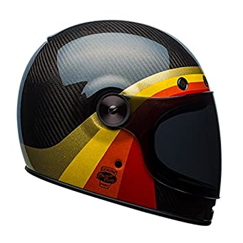 Bell Bullitt carbono química Candy casco de moto, Black Gold, small