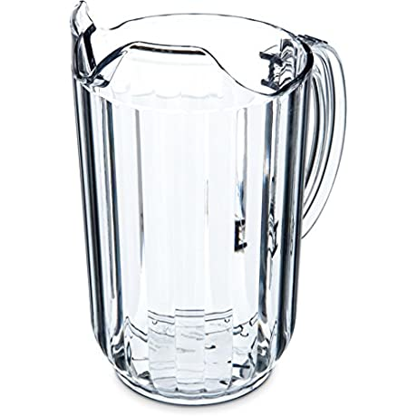 Carlisle Commercial Beer Pitchers 48 Oz Clear