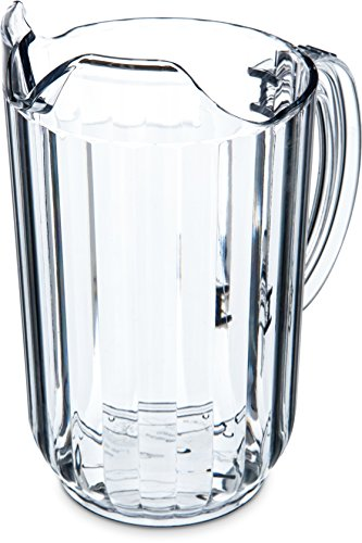 Carlisle 553807 Commercial Beer Pitcher, 48 oz, Clear (Pack of 6)