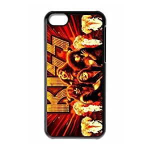 [bestdisigncase] For Iphone 5c -POP Kiss Music Band PHONE CASE 7