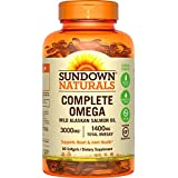 Sundown Naturals Complete Omega 1400 mg, 90 Softgels