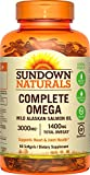Sundown Naturals Complete Omega 1400 mg, 90 Softgels For Sale