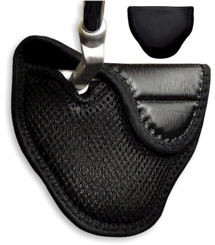 JP Lann Synthetic Leather Mallet Putter Cover for Heel Shafted Putters (right)