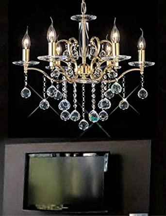 office chandeliers feminine ssmax60w traditionalclassic crystal gold metal chandeliers bedroom dining room