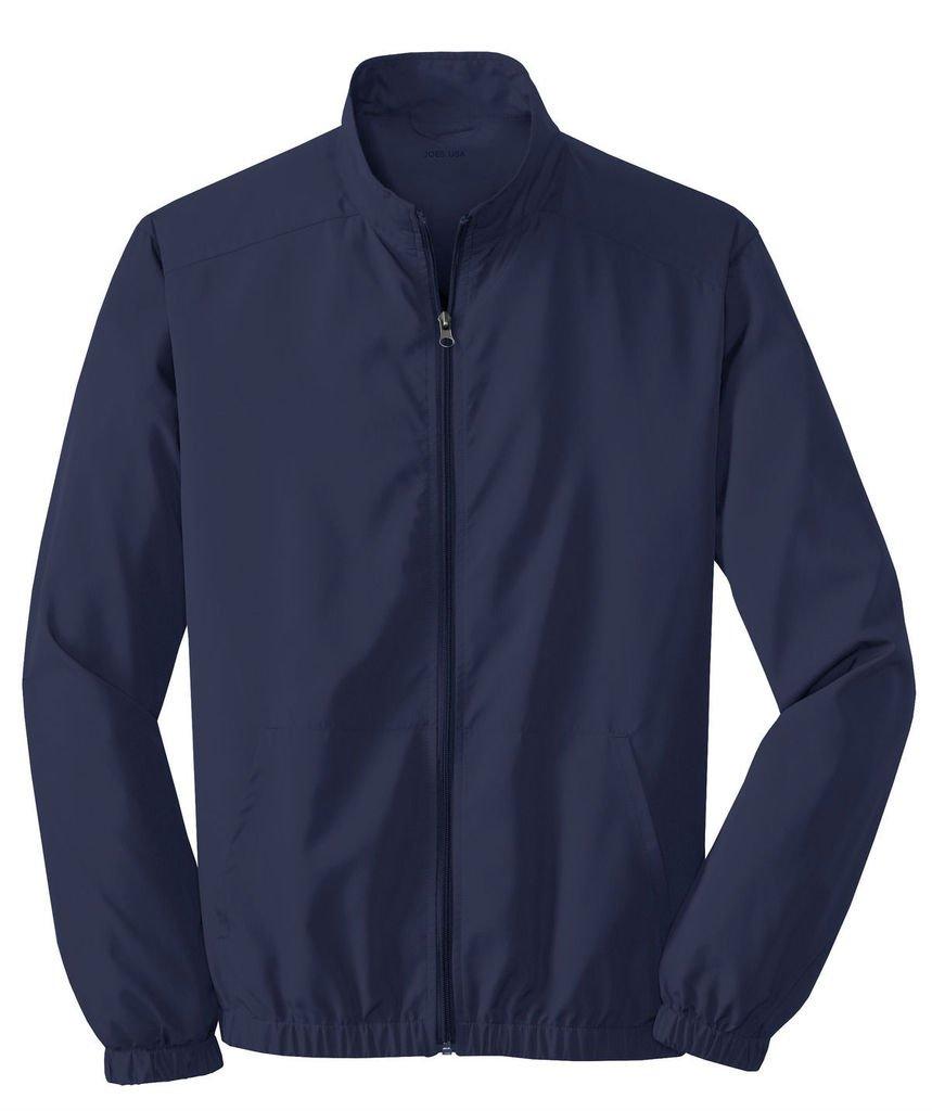 Joe's USA Men's Lightweight Jacket-True Navy-XL by Joe's USA