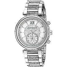 Michael Kors Women's Sawyer Silver-Tone Watch MK6281