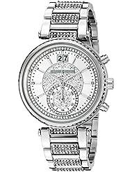 Michael Kors Womens Sawyer Silver-Tone Watch MK6281