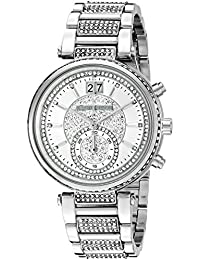 Michael Kors Women's Sawyer Silver-Tone Watch MK6281