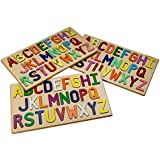 South Bend Woodworks Wooden Alphabet Puzzle