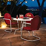 Crosley Furniture Griffith 40-Inch Metal Outdoor