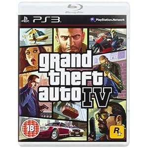 PS3 Grand Theft Auto IV Platinum Edition