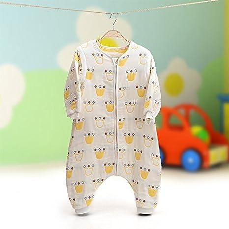 MLF-Saco de dormir para bebé 100% algodón-,Blanca,100cm.: Amazon.es: Hogar