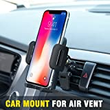 vent cell holder - Car Mount,OTEMIK Phone Holder Universal Air Vent Phone Mount,Adjustable 360 Degree Rotation Cellphone Mount One-Button-Release for iPhone X/8/7P, Galaxy S6/7 Note 8,HTC LG Huawei,Other Smartphone